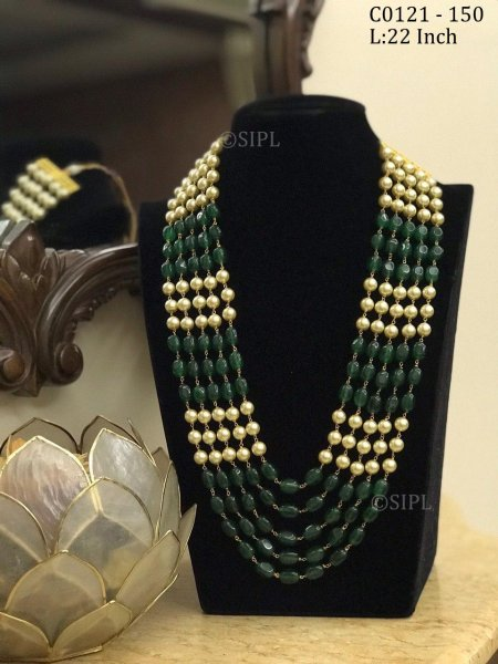 Beautifully Handmade Tumble Stone Chain