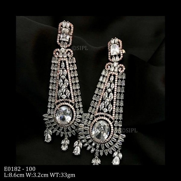 Classic Stylish Best Quality AD Earrings