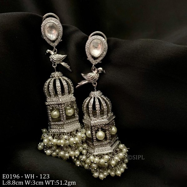Luxury american diamond earring