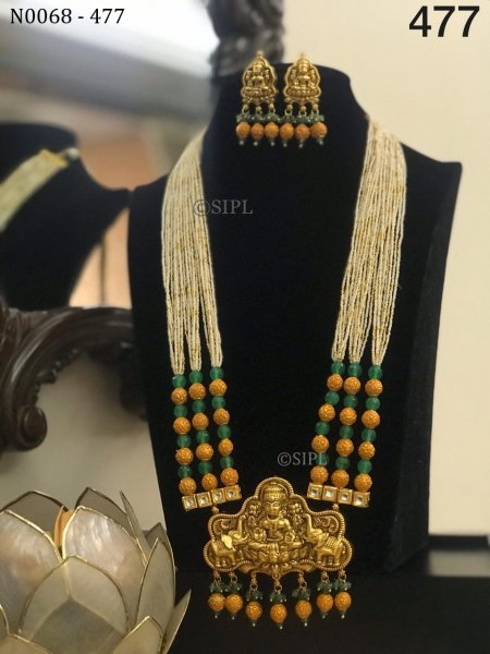 Beautiful Temple Necklace Set