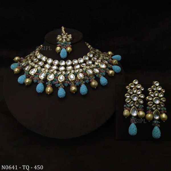 Beautiful Indian Traditional Royal Necklace Set