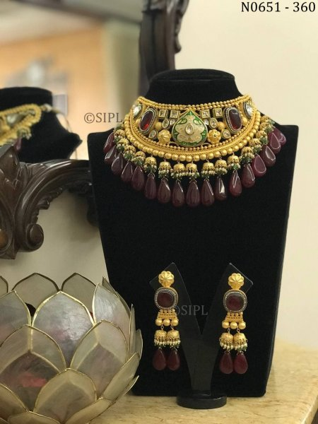 Beautiful Handmade Designer Necklace Set