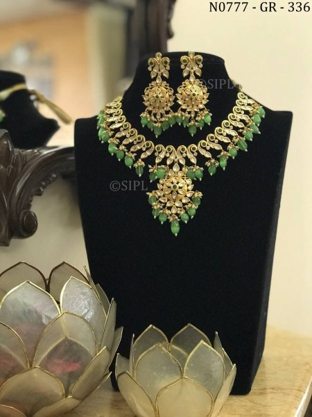 Classic Ethnic Design Kundan Necklace Set