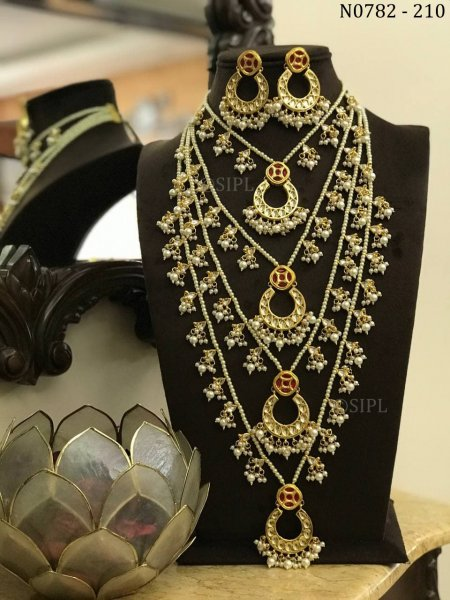 Royal Designer Kundan Necklace set