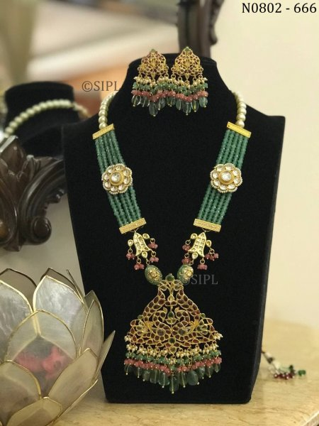 Amazing Gold Plated Southern Design Necklace Set